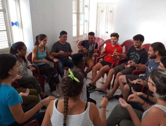 Jóvenes agustinianos en Cuba 2019. Agustinos.