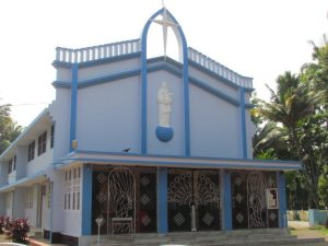 Queen Mary Help of Christian Church, Aluva (Kerala)