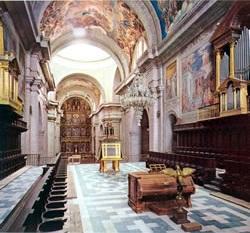 Basílica del Real Monasterio de San Lorenzo de El Escorial (Madrid)