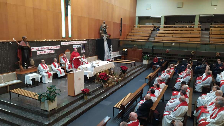 Encuentro de agustinos para celebrar la Navidad