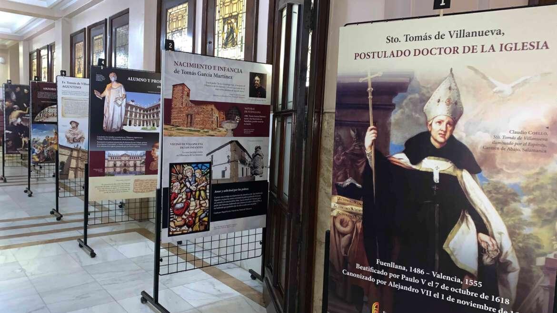 Exposición de Santo Tomás de Villanueva organizada por la Orden de San Agustín