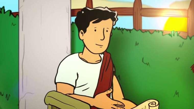 La familia agustiniana presenta la vida de San Agustín en dibujos animados
