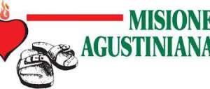 """Logotipo de la hoja informativa """"Misiones Agustinianas""""."""