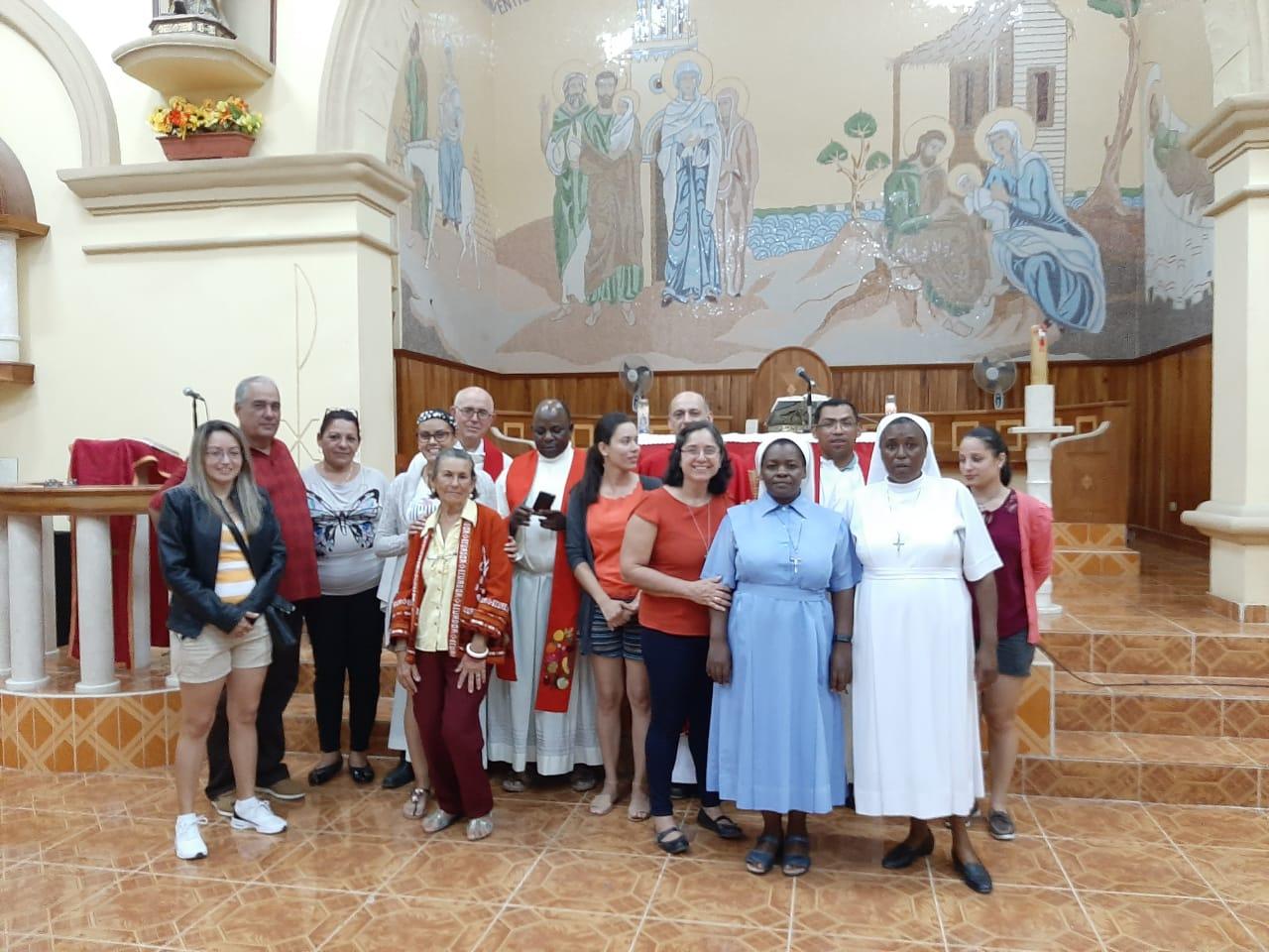 Los Agustinos desarrollan su misión en lugares como Cuba, donde el P. José Aalberto Escobar Marín, afirma que es tiempo de alentar.