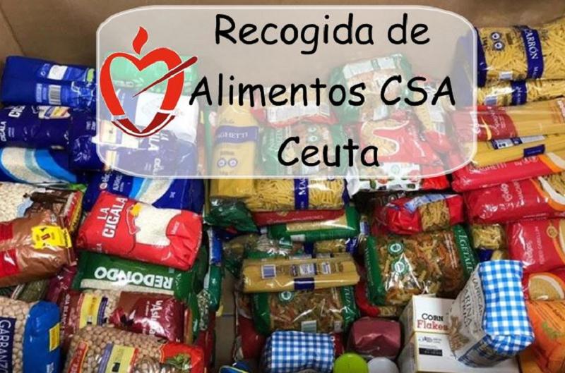 La Comunidad de Padres Agustinos de Ceuta y el colegio San Agustín organizan una campaña de recogida de alimentos para ayudar a familias necesitadas.