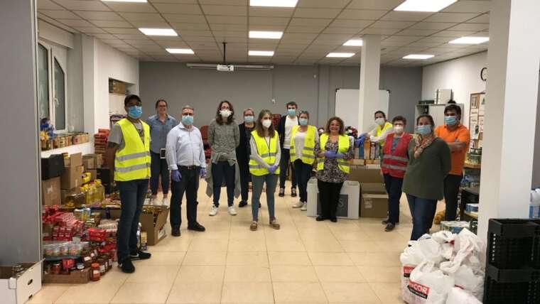 """Segunda campaña """"Operación Kilo-COVID"""" en la Parroquia San Lorenzo de El Escorial"""
