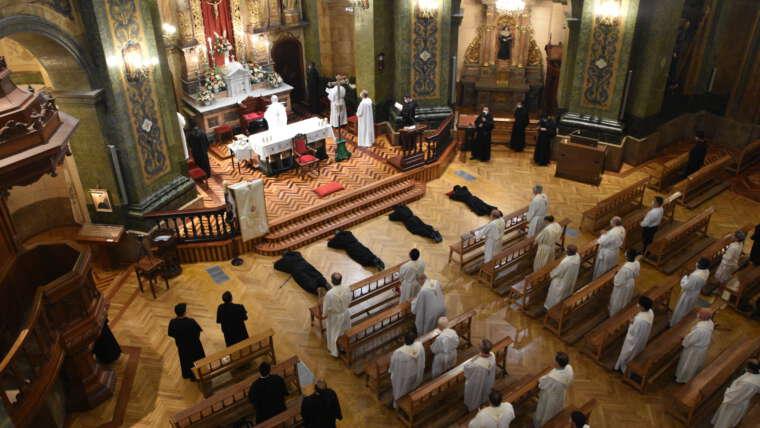 Profesiones solemnes en Valladolid y El Escorial