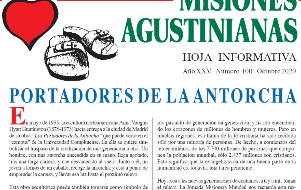 """""""Misiones Agustinianas"""": ya puedes leer el número del mes octubre"""