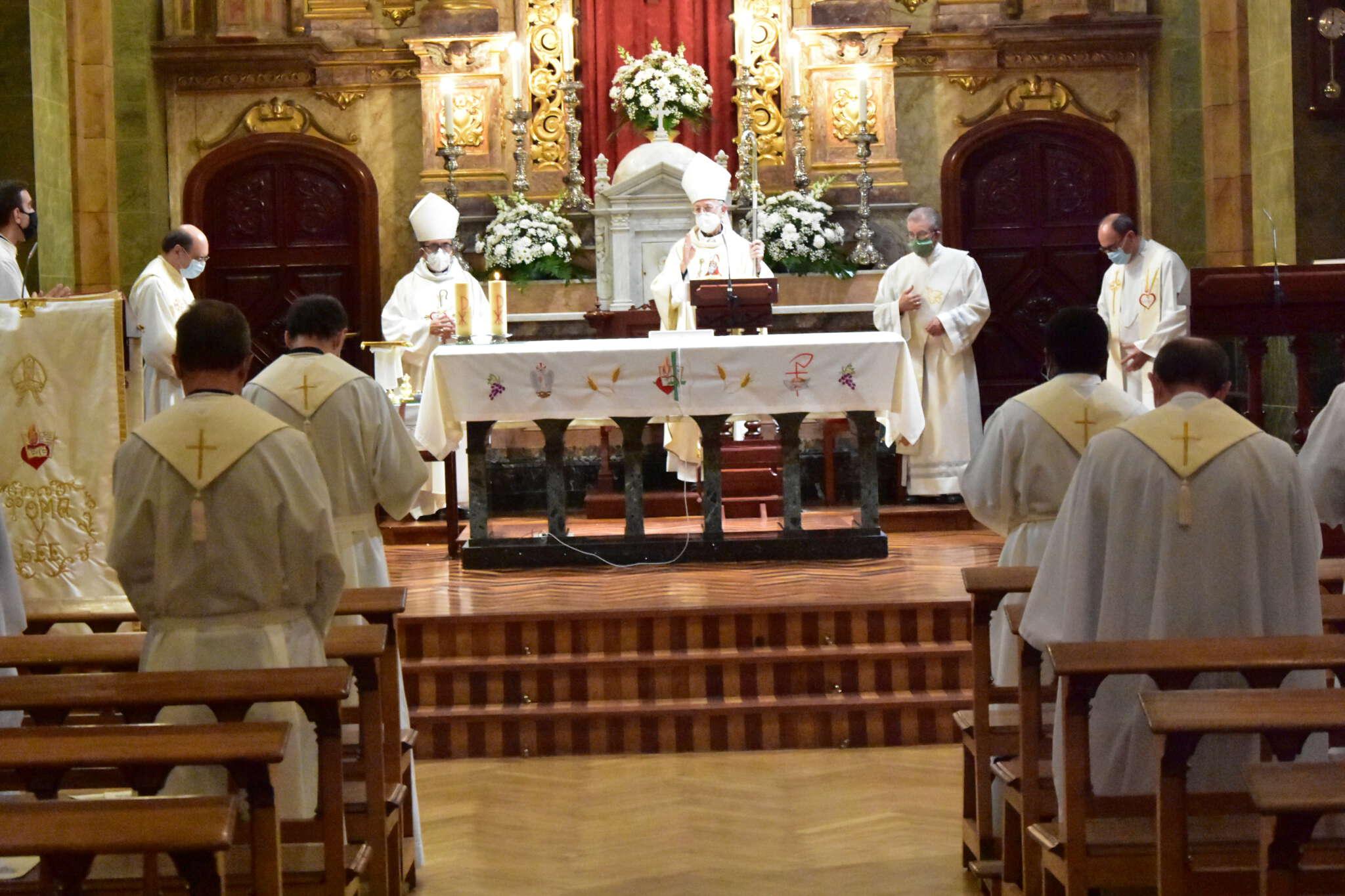 El Estudio Teológico Agustiniano de Valladolid ha celebrado la apertura de curso con la Eucaristía de la fiesta de Santo Tomás de Villanueva.