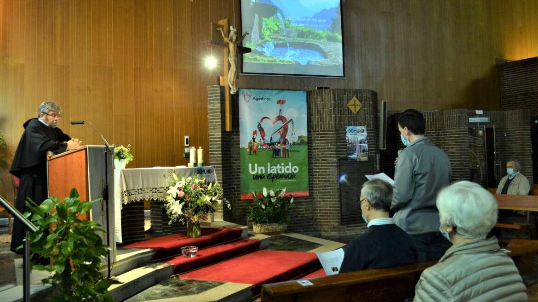 Misa vocacional en la Parroquia agustina Santa María del Bosque de Madrid