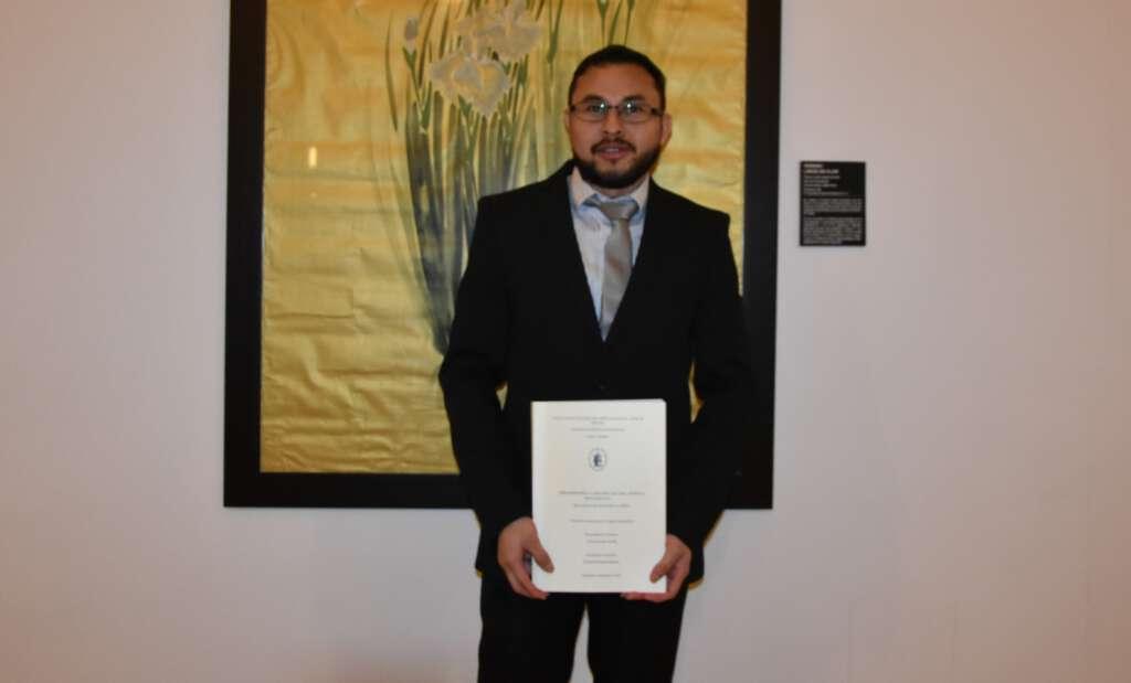 Fray Yelsin Sevilla, agustino de la Delegación de Centroamérica, se licencia en el Estudio Teológico Agustiniano de Valladolid en Teología Fundamental.