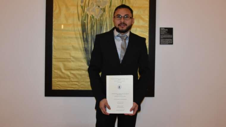 Agustino nicaragüense, Licenciado en Teología Fundamental, en Valladolid