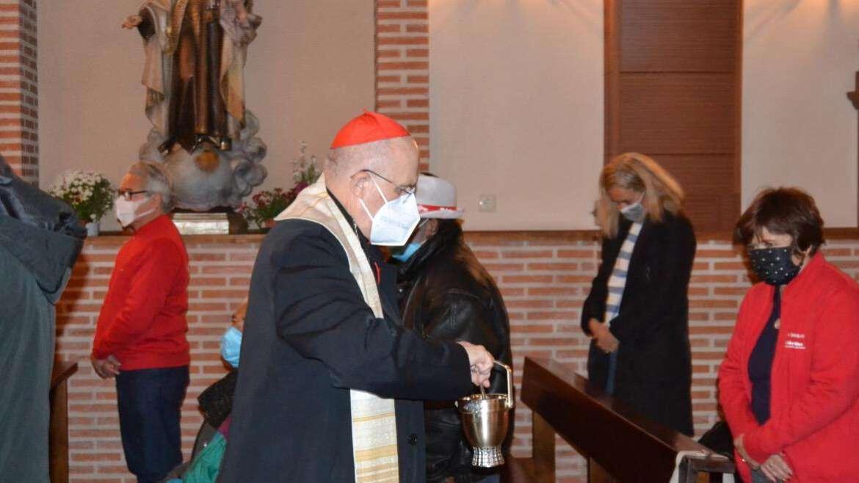 El Cardenal Carlos Osoro bendice el Hogar Santa Rita en la Sierra de Madrid