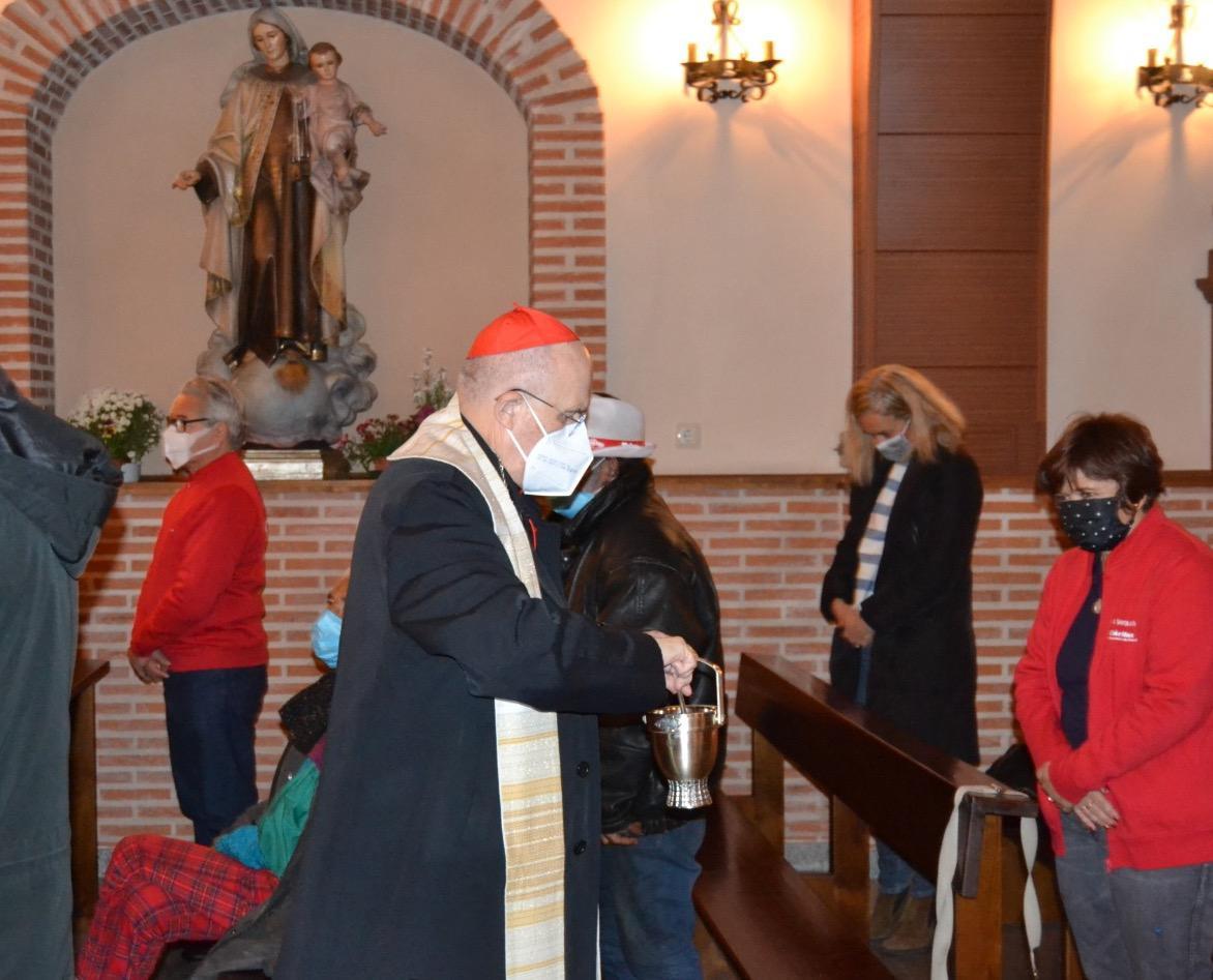 """El """"Hogar Santa Rita"""", que han puesto en marcha los agustinos en colaboración con otras instituciones, atiende las necesidades de las personas sin hogar."""