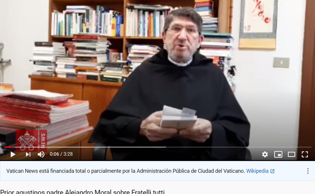 """El Prior General de los agustinos comenta la encíclica """"Fratelli tutti"""""""