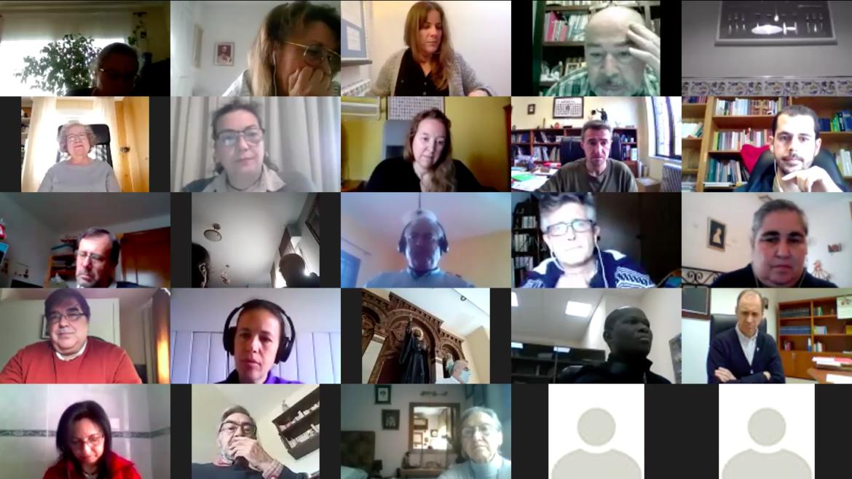 Primer encuentro provincial online de laicos agustinianos