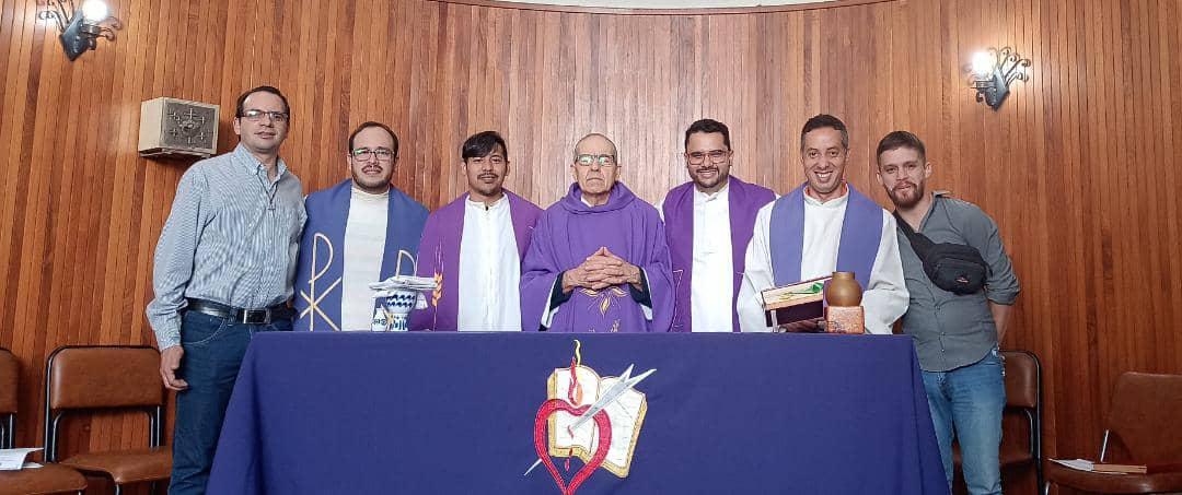 Como preparación de la Navidad, los religiosos de la Orden de San Agustín del Vicariato de Venezuela participaron en un Retiro de Adviento.