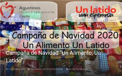 """Campaña de Navidad """"Un alimento, un latido"""", en el colegio de Ceuta"""