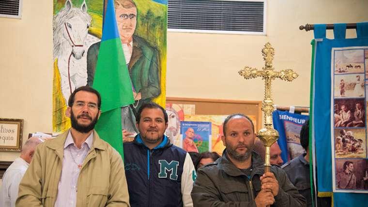 Los agustinos de Barcelona, con la Pastoral gitana