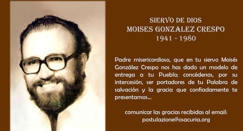 Avanza la causa de beatificación del P. Moisés González Crespo, OSA