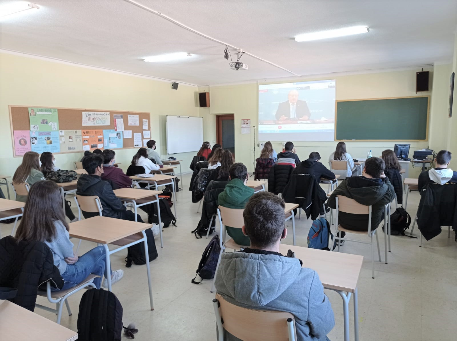 Comienza en el Colegio San Agustín de Salamanca, la V Semana de Formación, en la que se tratarán diversos temas de interés para los alumnos de Bachillerato.