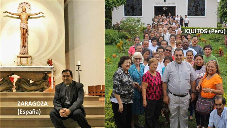 Mons. Miguel Olaortua OSA, hijo adoptivo de la ciudad de Zaragoza