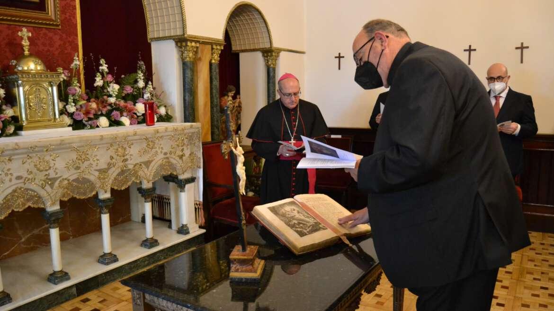 Toma de posesión del P. Emilio Rodríguez, OSA, como Vicario General de la Diócesis de Huelva
