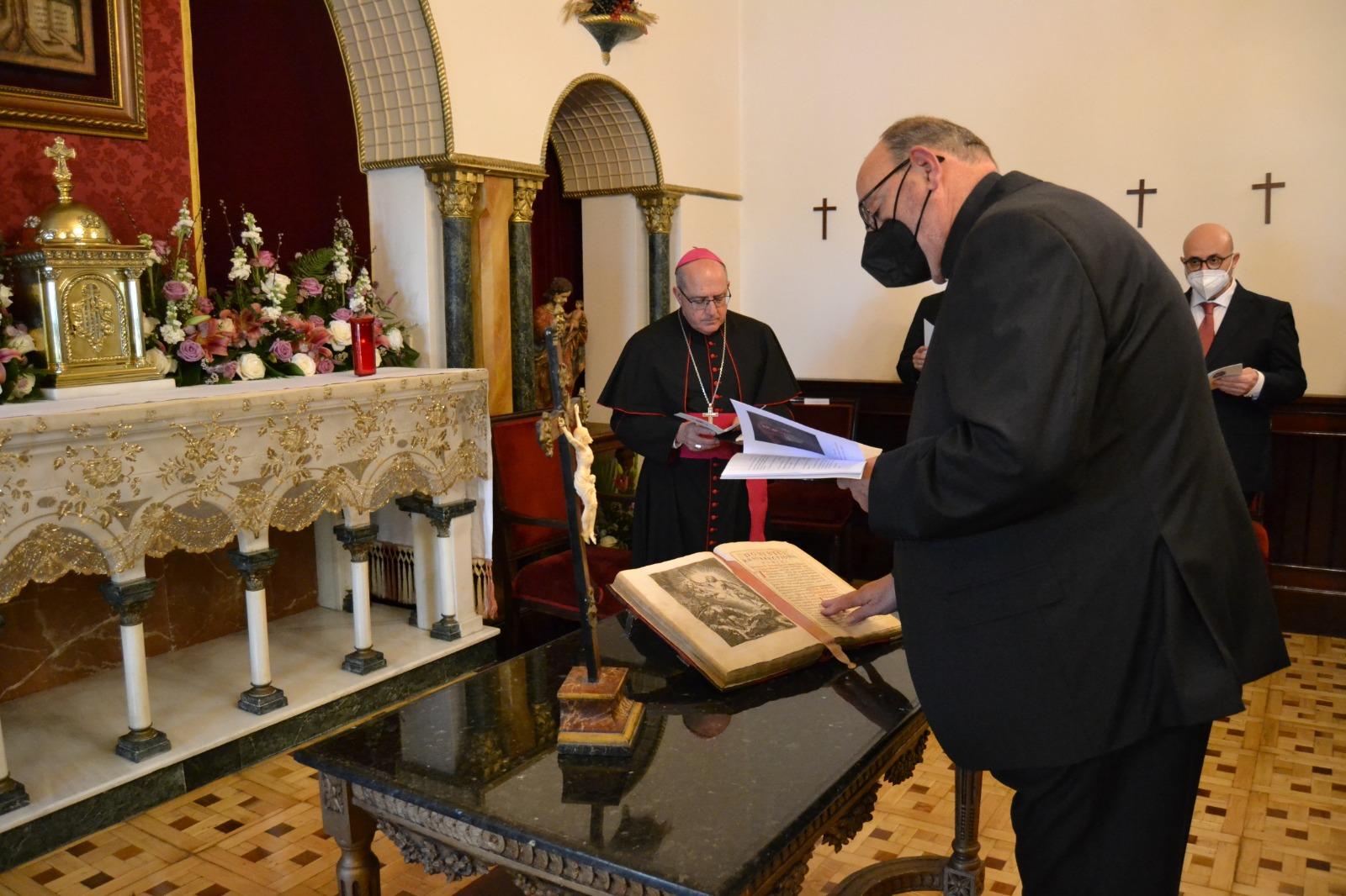 El religioso agustino P. Emilio Rodríguez Claudio, ha tomado posesión como Vicario General de la Diócesis de Huelva. El nombramiento se hizo público el 14 de abril.