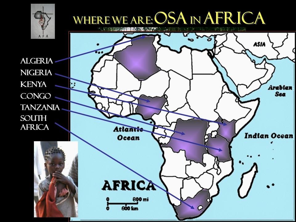 Coincidiendo con el Día de África recordamos cuál es la presencia de los agustinos en este continente.