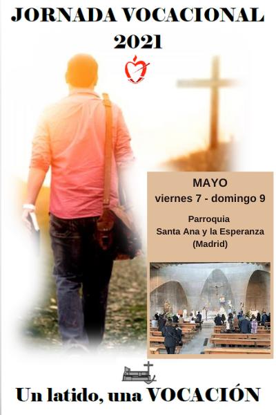 La Parroquia Santa Ana y la Esperanza de Madrid, acoge del 7 al 9 de mayo unas jornadas vocacionales con el lema