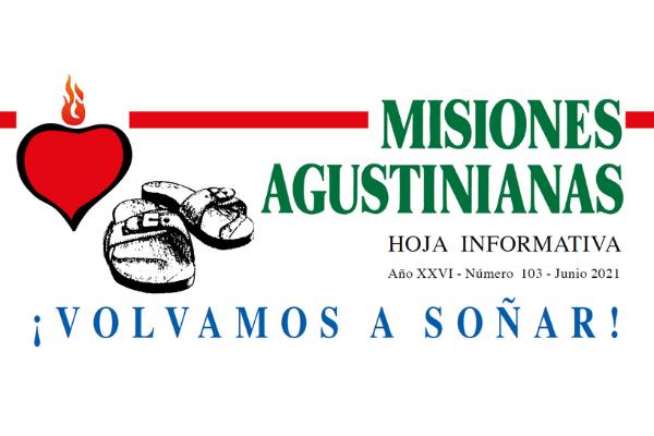 """Ya puedes leer el número del mes de junio de """"Misiones Agustinianas"""""""