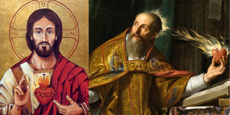 Sagrado Corazón de Jesús, el mismo que es fuente de la espiritualidad agustiniana