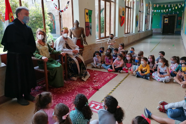 En las últimas semanas del curso, en los colegios agustinos, se desarrollan actividades que muestran lo divertido que es aprender.