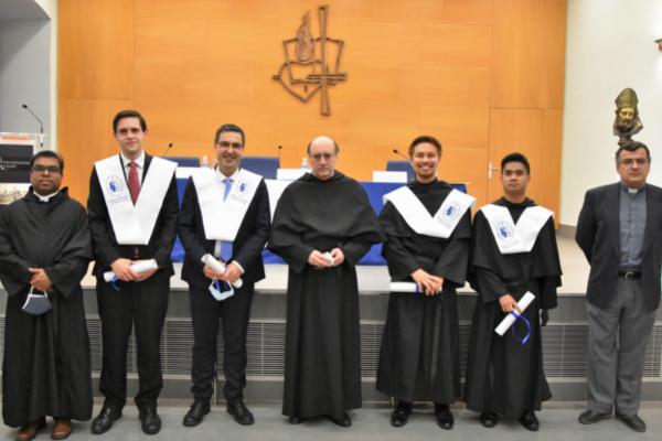 Clausura del curso y graduación en el Estudio Teológico Agustiniano de Valladolid