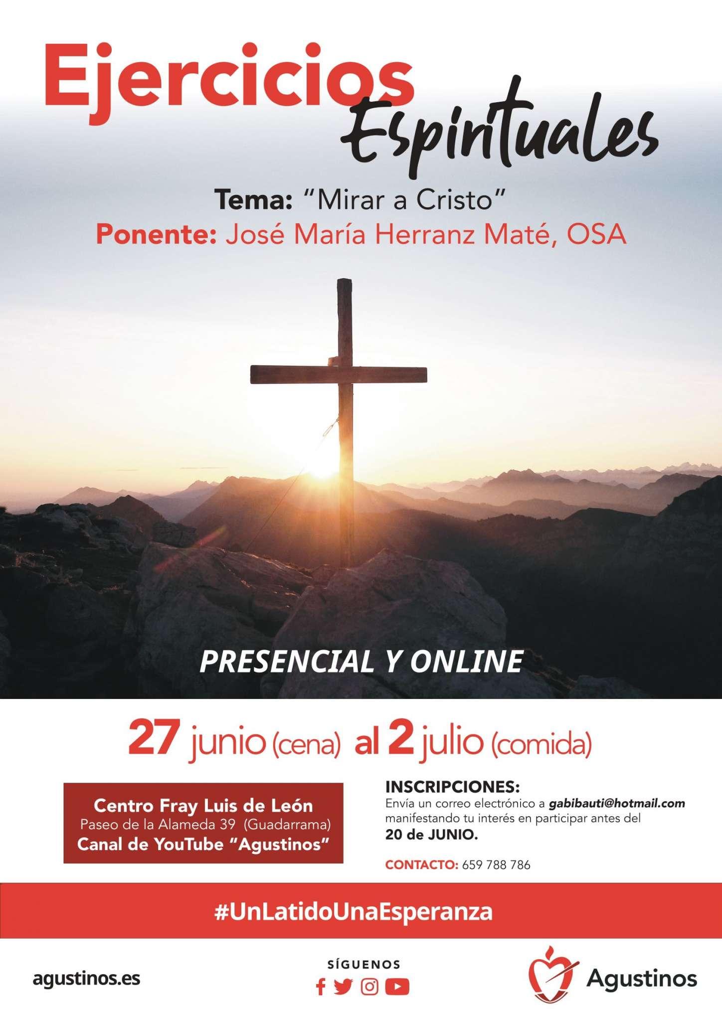 Hoy comienzan los ejercicios espirituales, en la Provincia San Juan de Sahagún de España, que terminarán el próximo viernes.