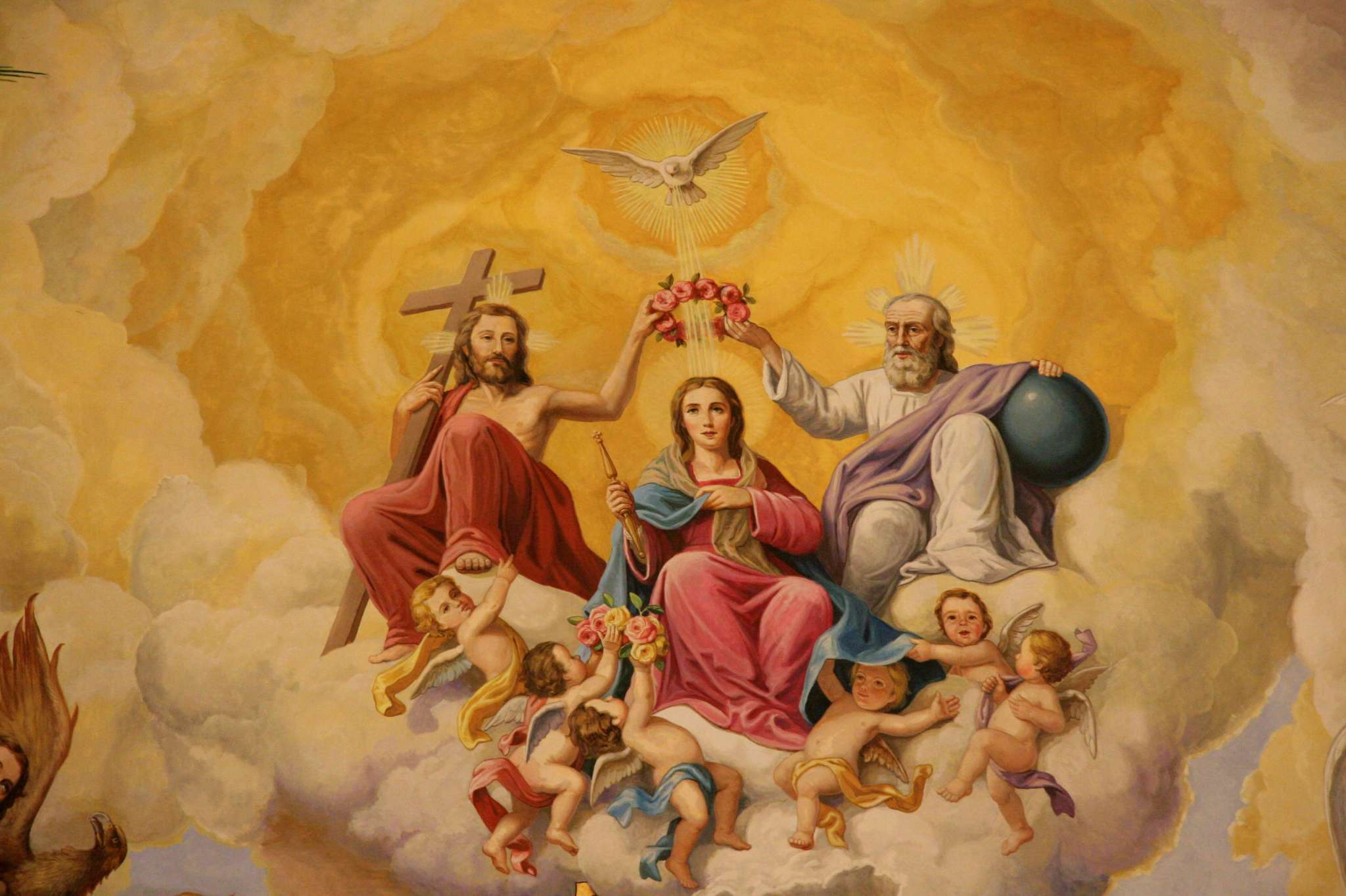 El 15 de agosto la Iglesia celebra La Asunción de María, modelo de la humanidad bienaventurada, manifestación de la grandeza humana.