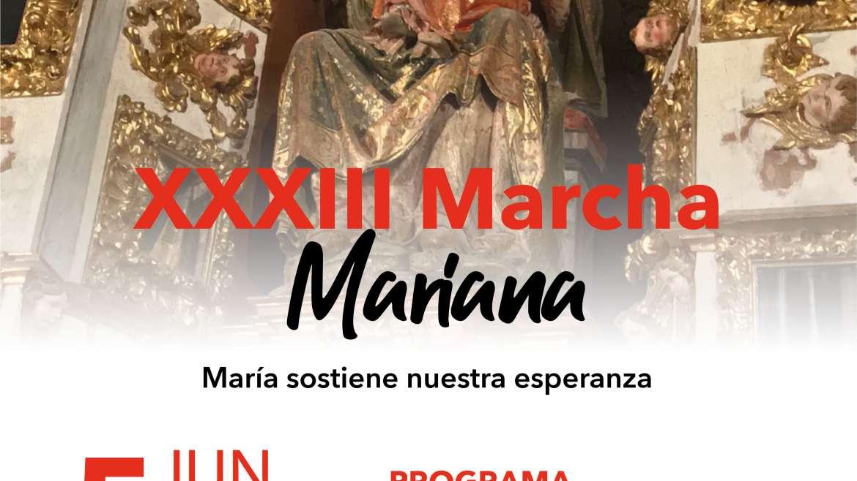 XXXIII Marcha Mariana al Monasterio agustino Nuestra Señora de La Vid