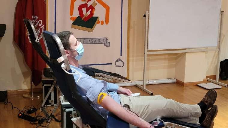 Campañas donación de sangre en los colegios mayores de agustinos