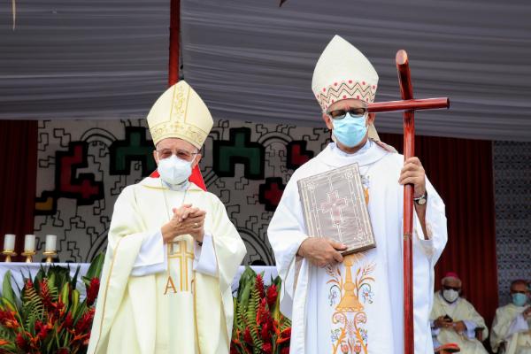 Consagración episcopal de Mons. Miguel A. Cadenas, religioso agustino