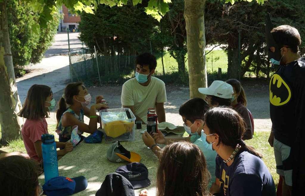 Campamentos agustinos en Palencia y La Vid (Burgos)