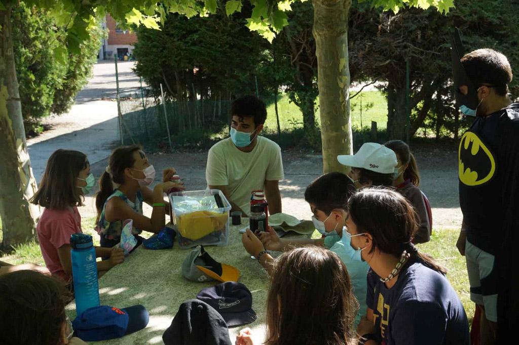 En la primera quincena de julio, 200 chicos y chicas, de 3º a 6º de Primaria disfrutan de campamentos organizados por los agustinos.