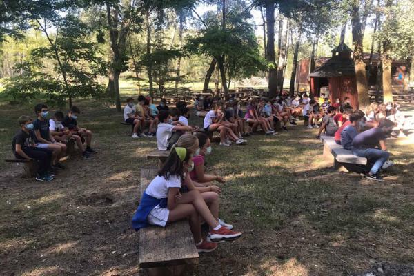 Del 20 al 29 de julio, 160 niños y jóvenes, de 10 a 18 años, participan en los campamentos