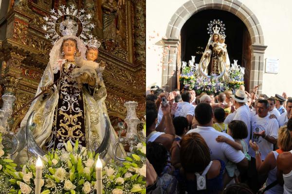 Los Agustinos celebran el Día de la Virgen del Carmen