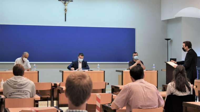 Octavo licenciado en Teología en el Estudio Teológico Agustiniano de Valladolid