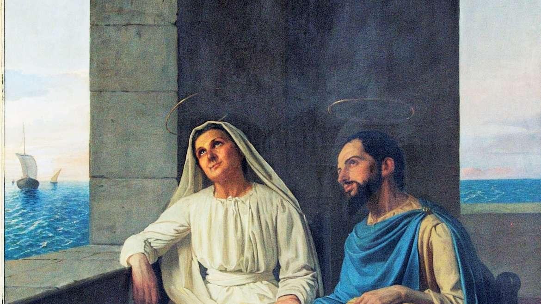 La Familia Agustiniana celebra a San Agustín y Santa Mónica, su madre