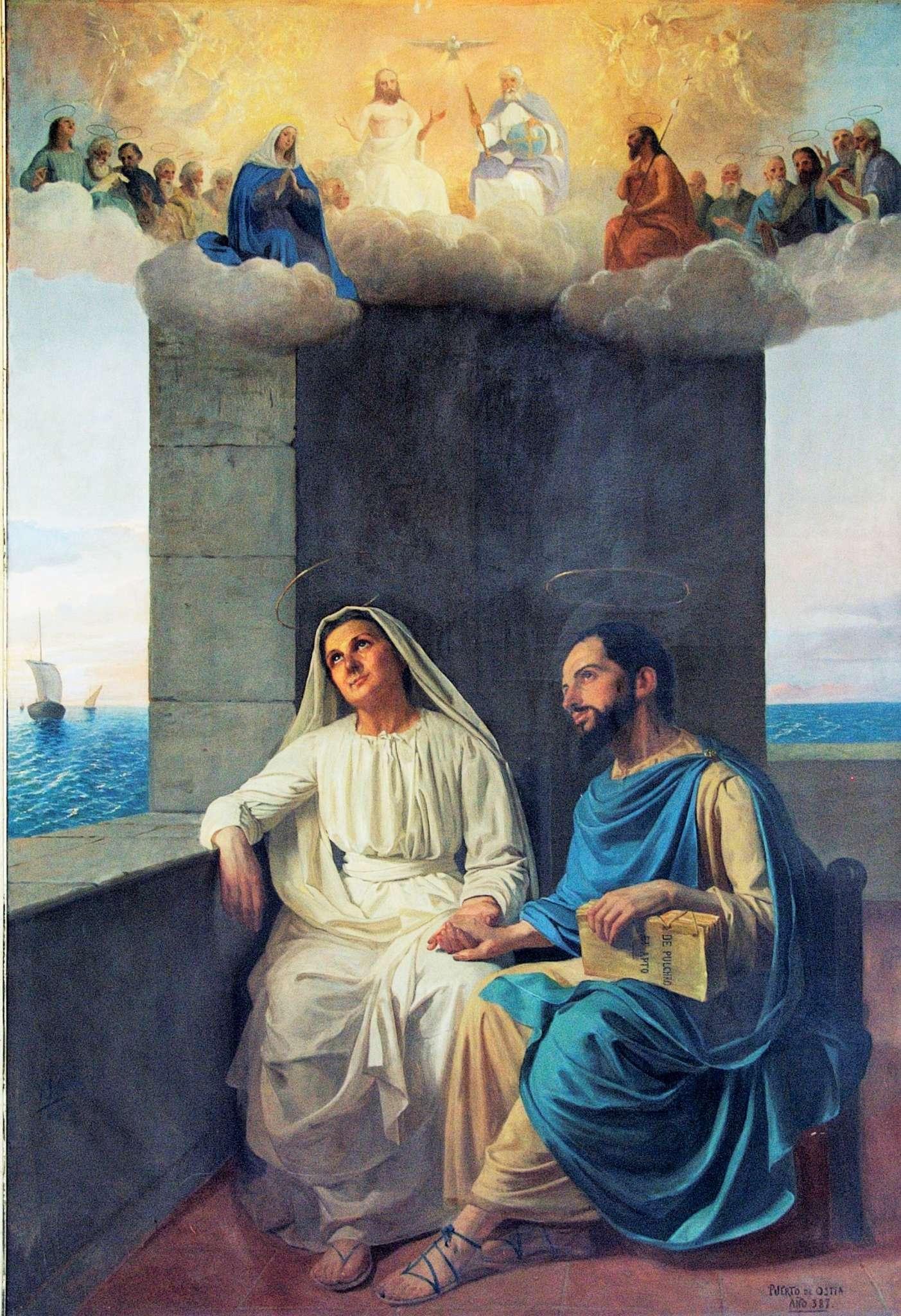 La Familia Agustiniana celebra los días 27 y 28 de agosto, las fiestas de Santa Mónica y San Agustín, respectivamente.