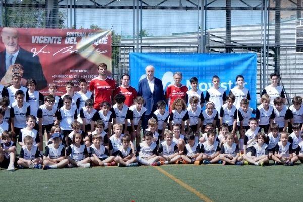 Termina el Summer Camp Vicente del Bosque en el Colegio Valdeluz