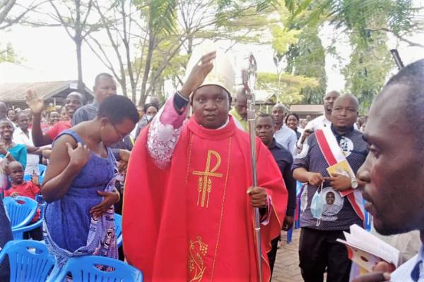 Primer religioso agustino tanzano en ser consagrado obispo