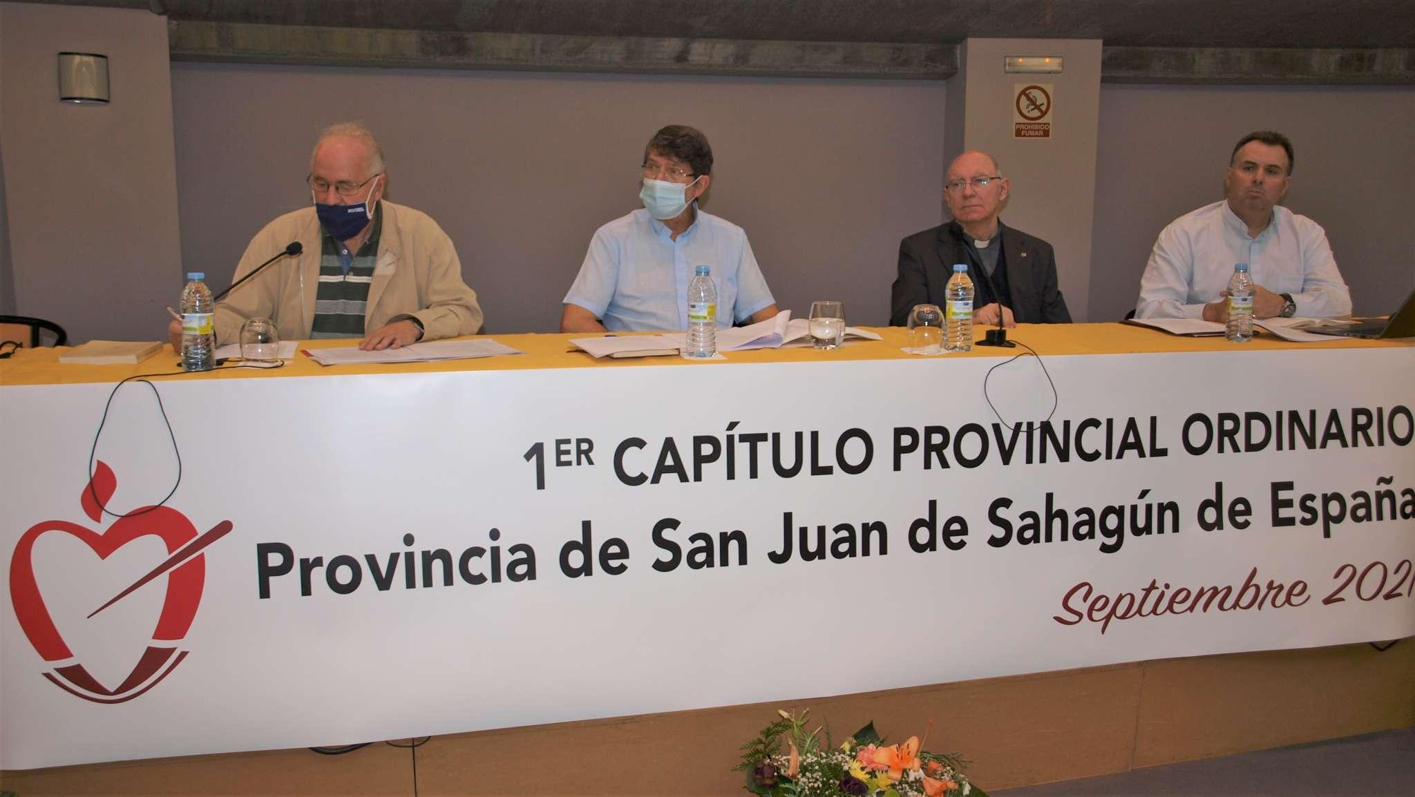 En la tercera jornada del Capítulo Provincial las sesiones de trabajo se dedicaron a la revisión y aprobación de los estatutos.