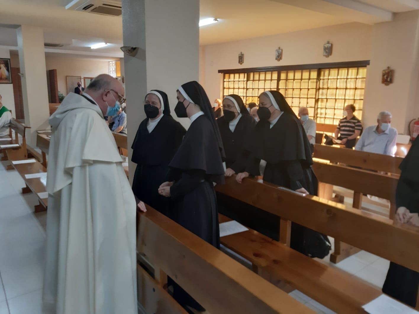 El 4 de septiembre tuvo lugar en la parroquia san Alonso de Orozco, de Talavera de la Reina, la eucaristía de despedida de los agustinos.